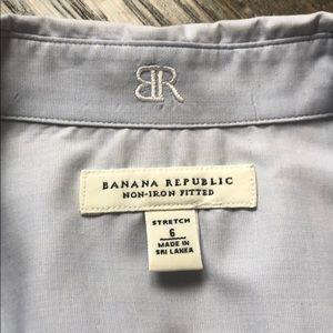 Banana Republic no -iron dress shirts.